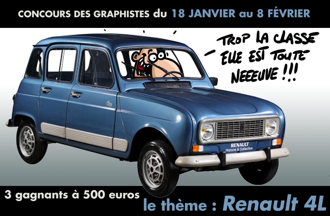 concours renault 4l