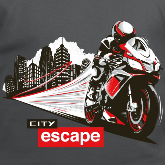 sortie de moto city escape