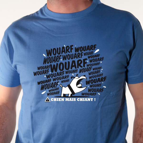 t-shirt chien-mais-chiant