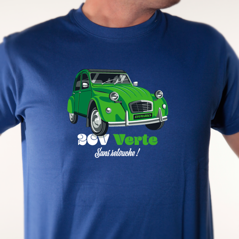 t-shirt-2CV-VERTE