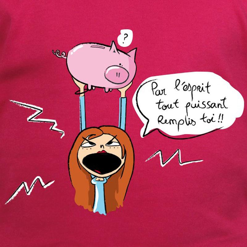 t-shirt-humour-tirelire