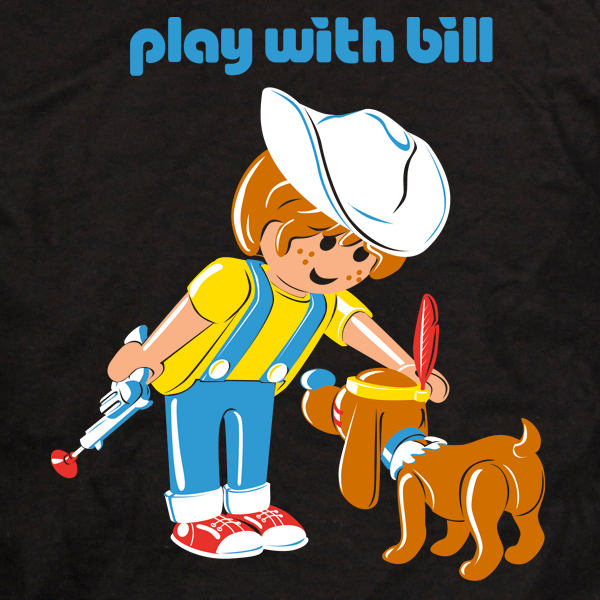 tee-shirt-humour-play with bill