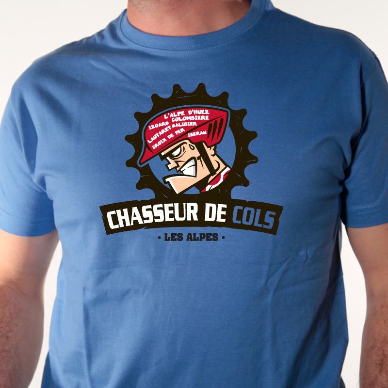 t-shirt-vélo-chasseur de cols