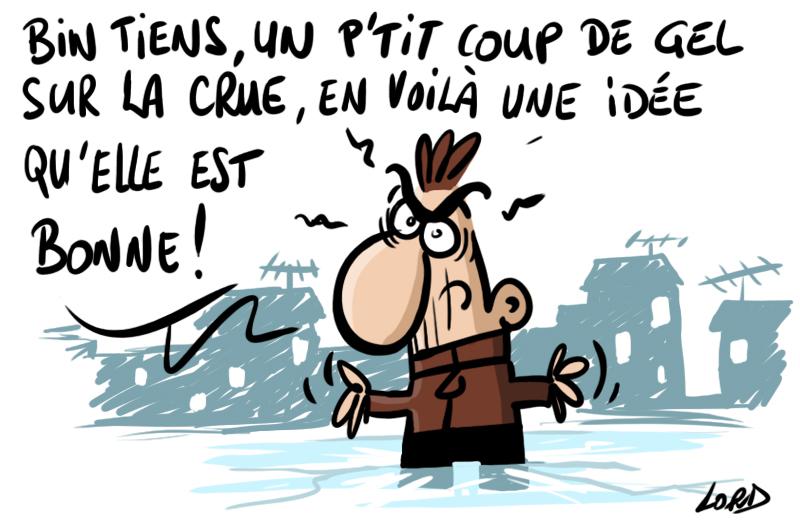 dessin humour lord inondation gel