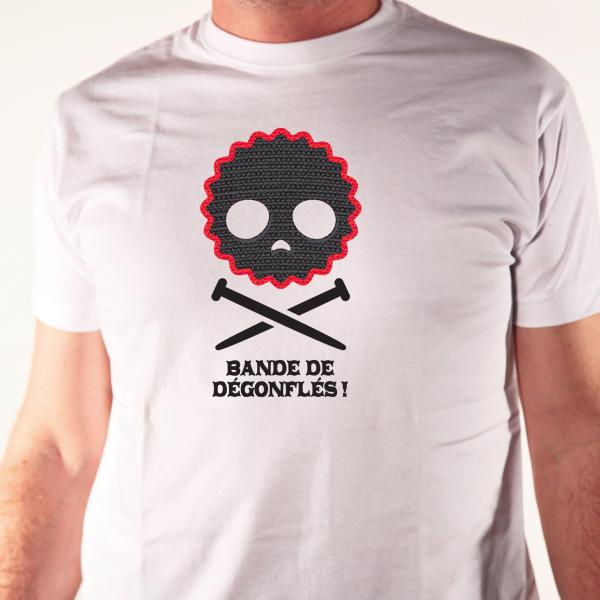 t-shirt humour vélo-dégonflés