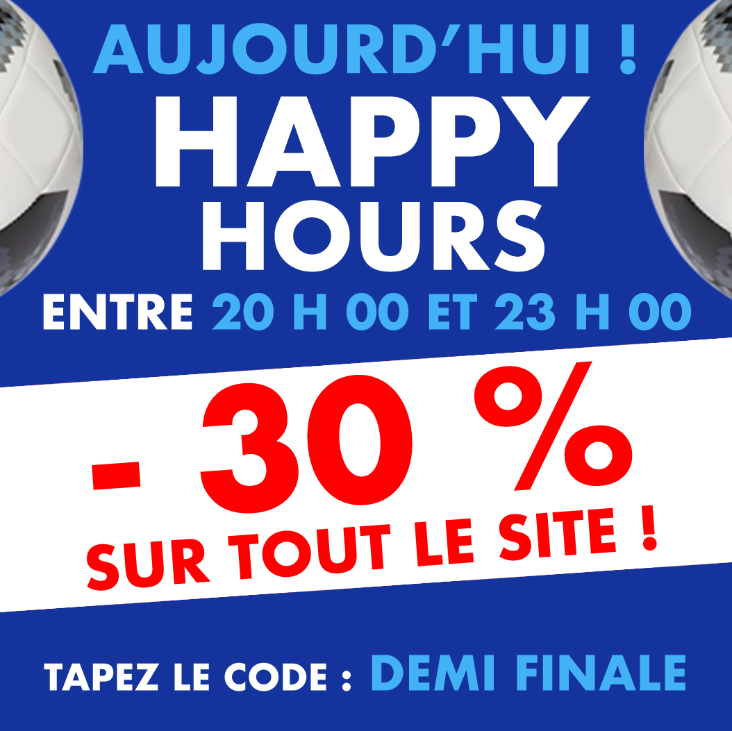 Annonce HAPPY HOURS FOOT