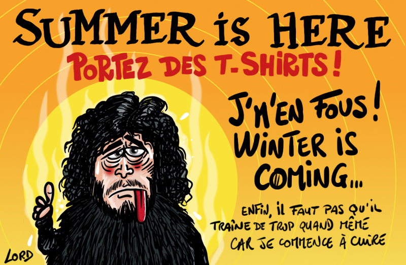 dessin humour lord-summer is here
