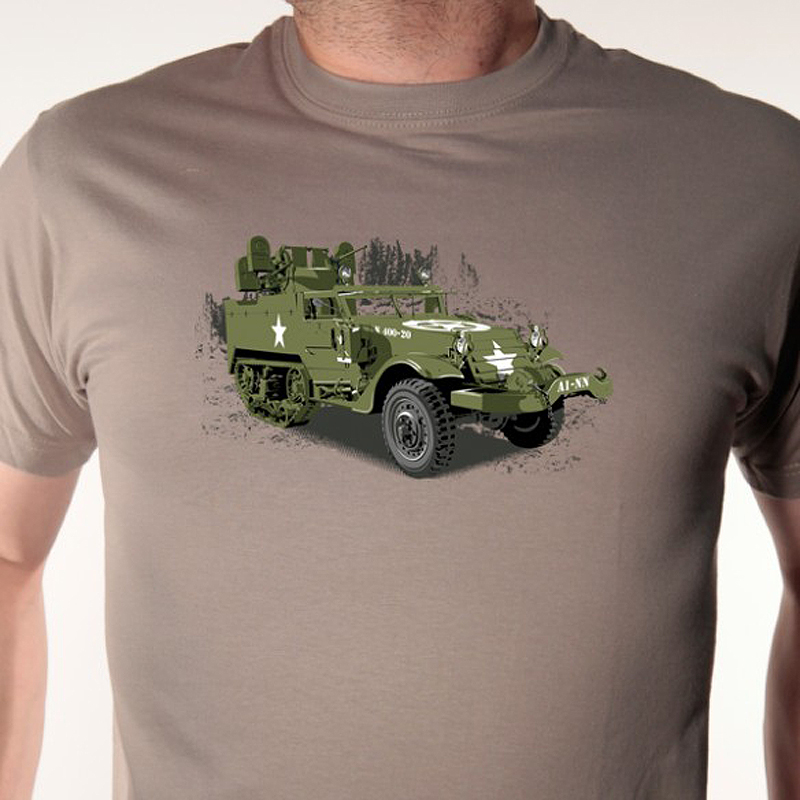 t-shirt-vehicule-militaire-half-track-avomarks