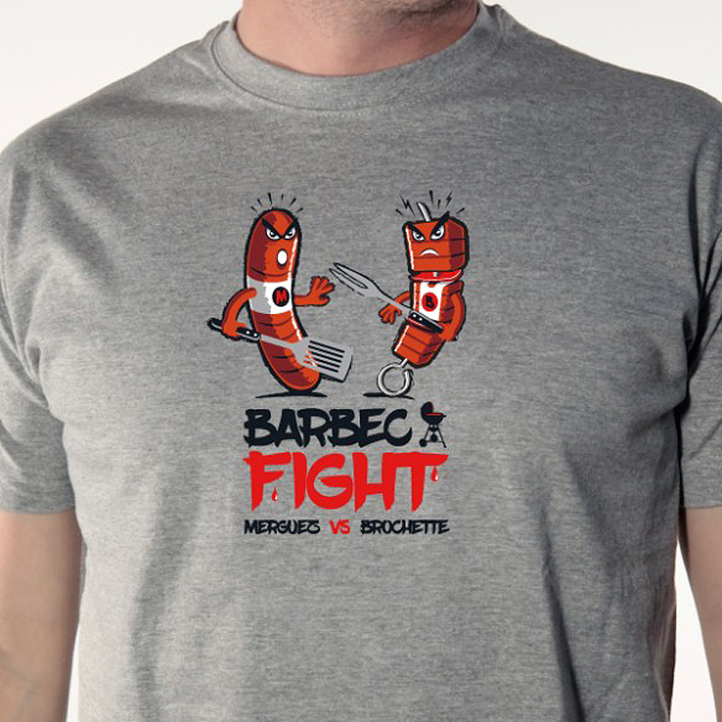 tee-shirt-barbec-fight