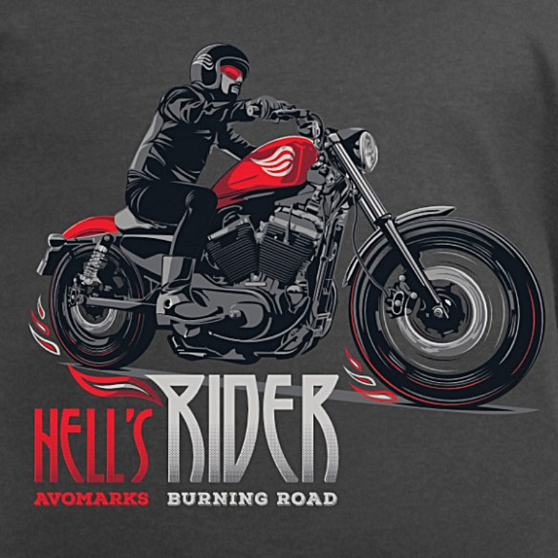 t-shirt-motard-hell-s-rider