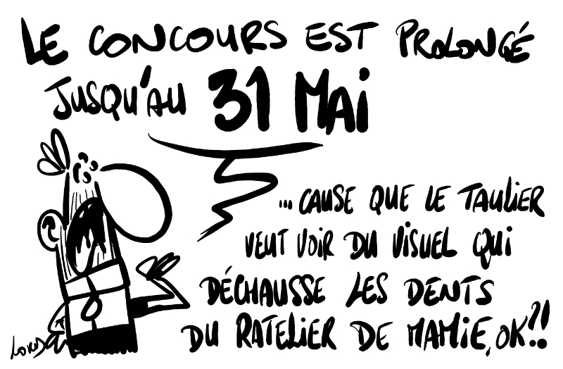 dessin lord humour concours