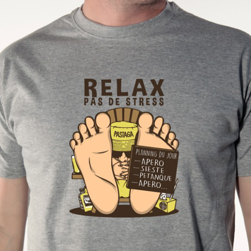 t-shirt-relax-humour