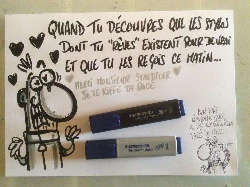 Nouveaux stylos dessin humour lord