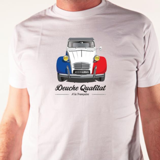 t-shirt deuche qualitat
