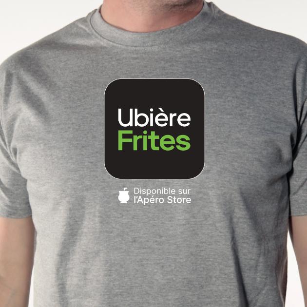t-shirt Ubière-frites