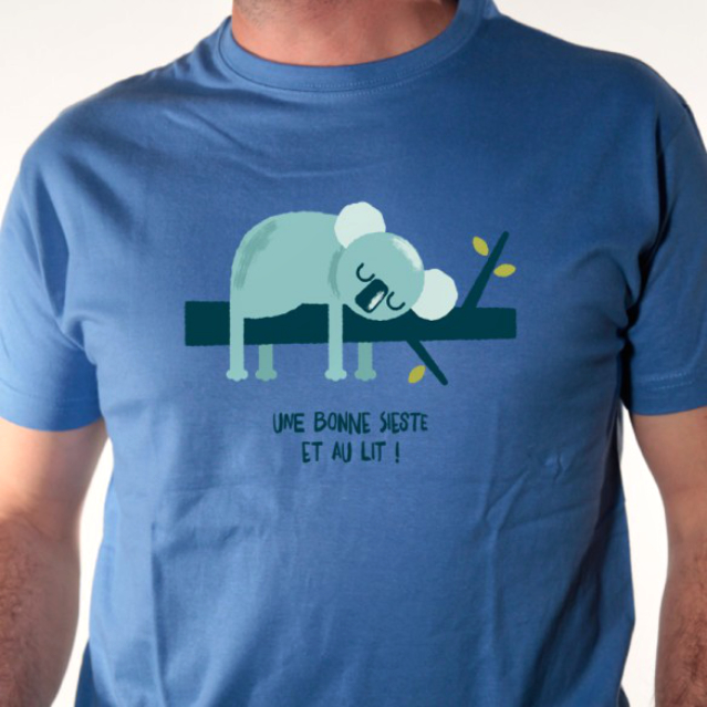 tee-shirt-koala-la-sieste