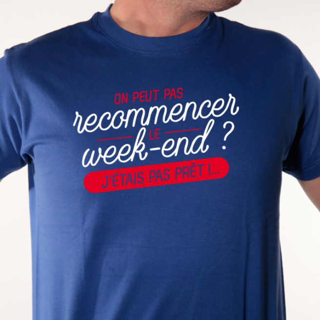 t-shirt week-end