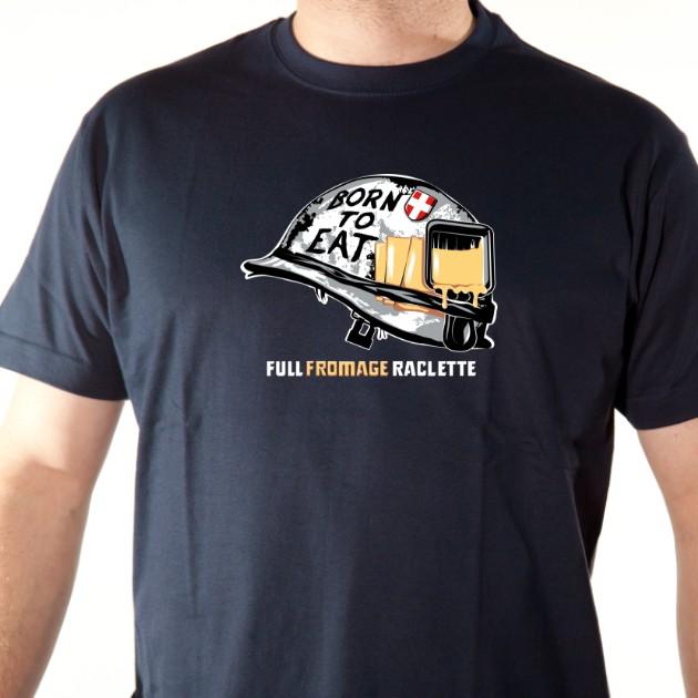 t-shirt raclette ski