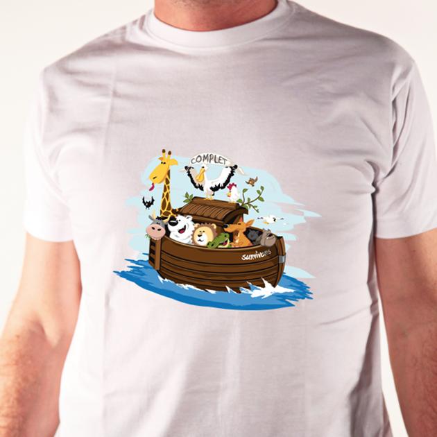 tshirt arche noé