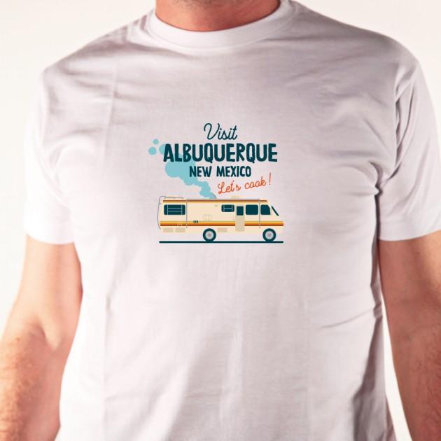 t-shirt série Visit Albuquerque