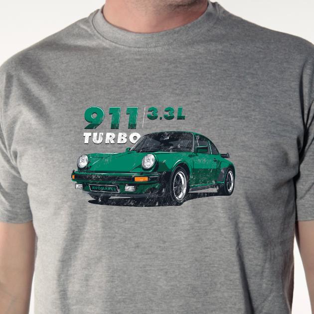 T shirt auto - Porsche 911