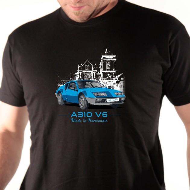 t-shirt Alpine A 310