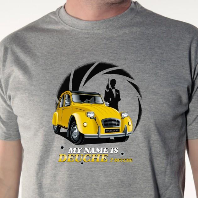 t-shirt My name is deuche
