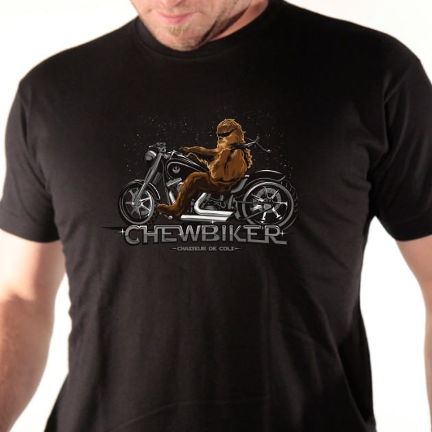 t-shirt Chewbiker